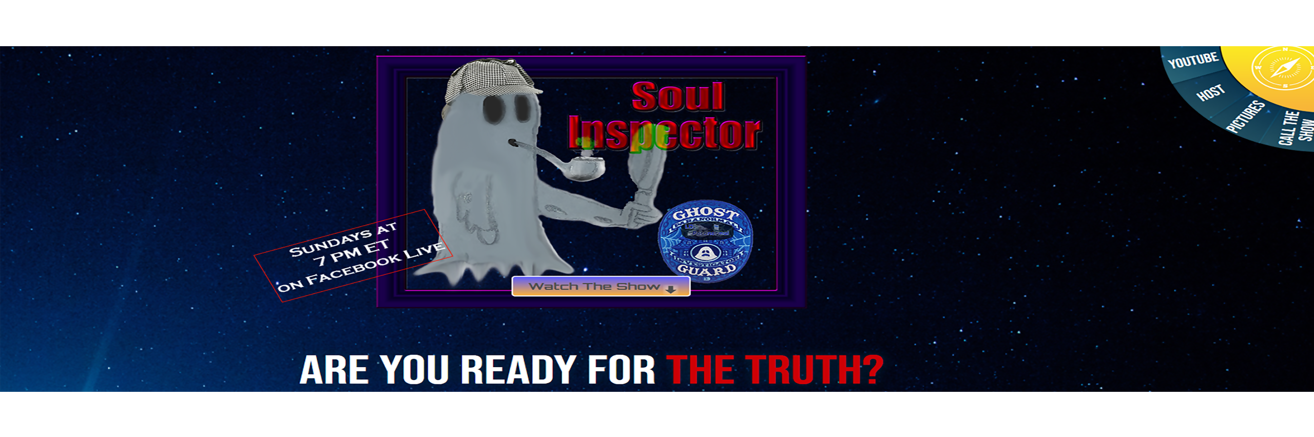 Soul Inspector Paranormal Show Live!