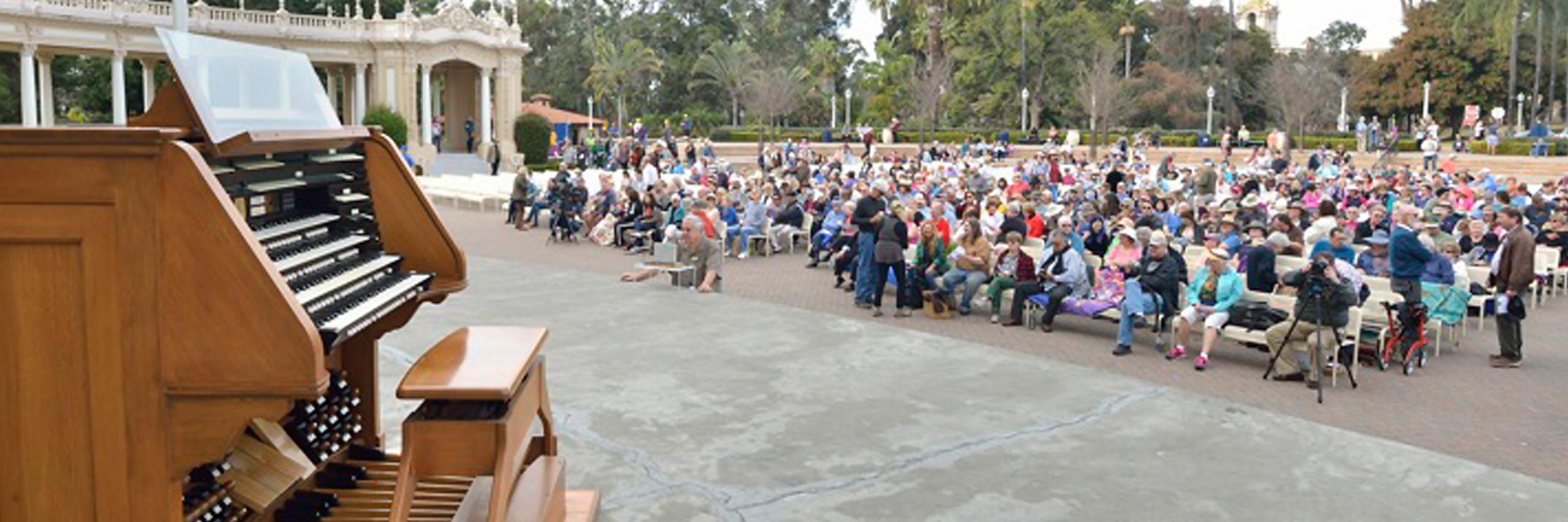 Spreckels Organ Society Concerts