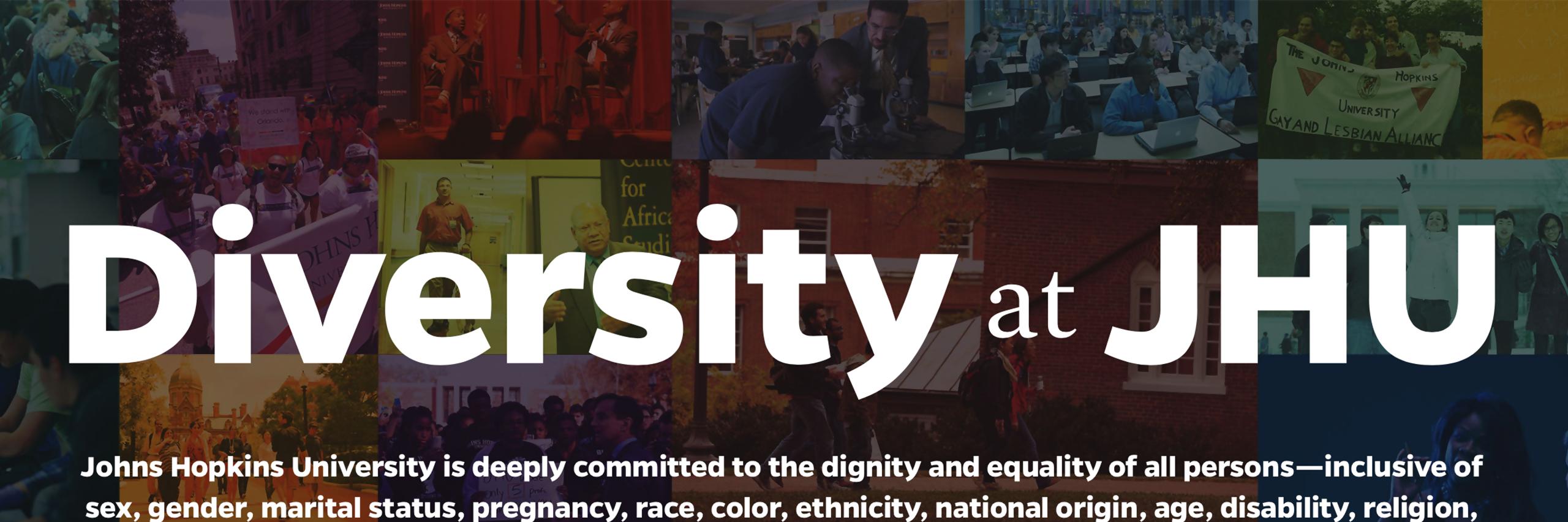 Diversity at Johns Hopkins
