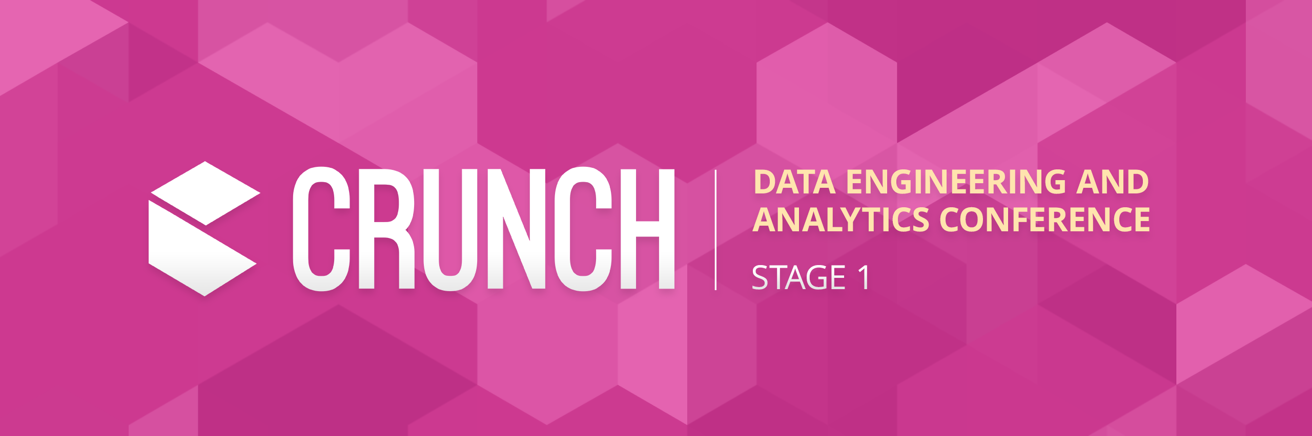Crunch Data Conference - Stage 1