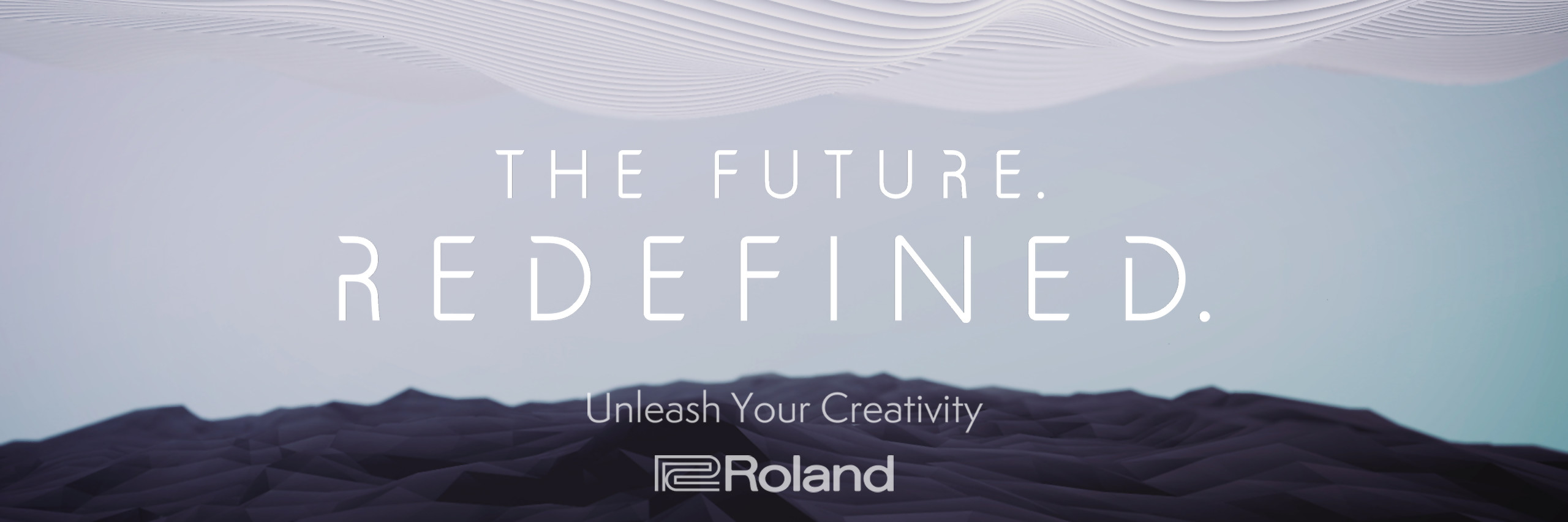 """Roland """"The Future. Redefined."""""""