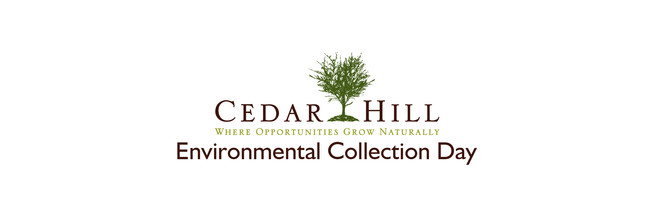 Cedar Hill Environmental Collection Day