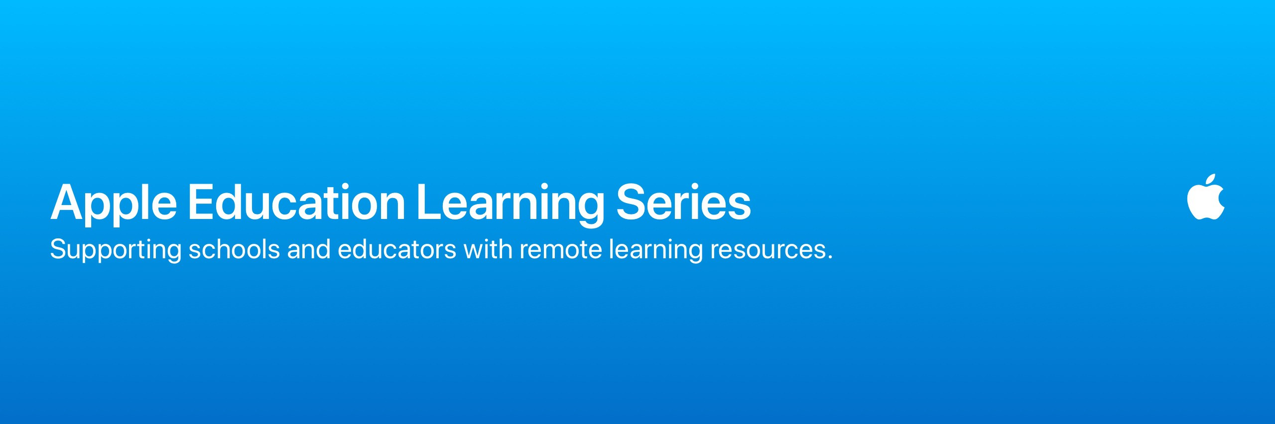 Apple Education Learning Series | Worldwide