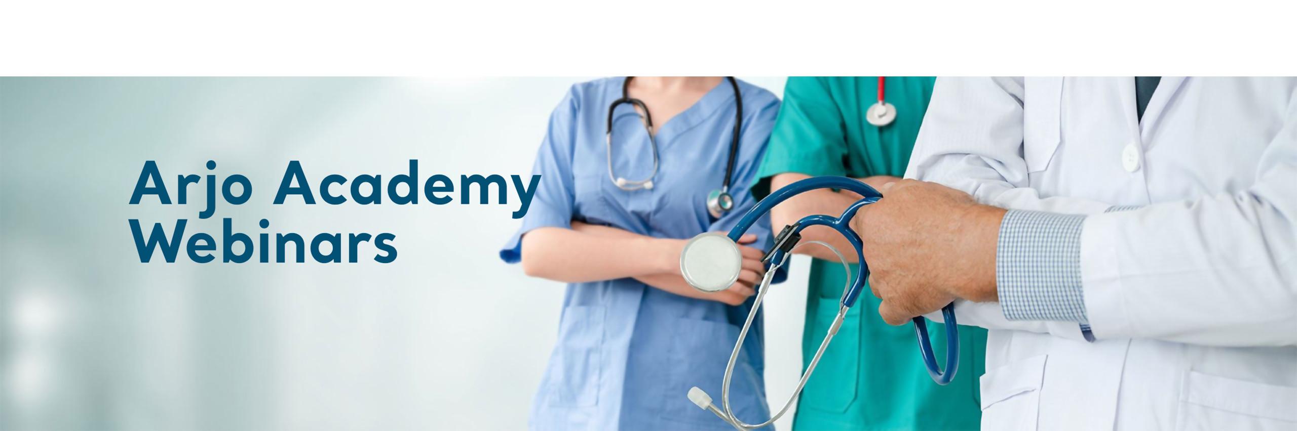 Arjo Academy Webinars