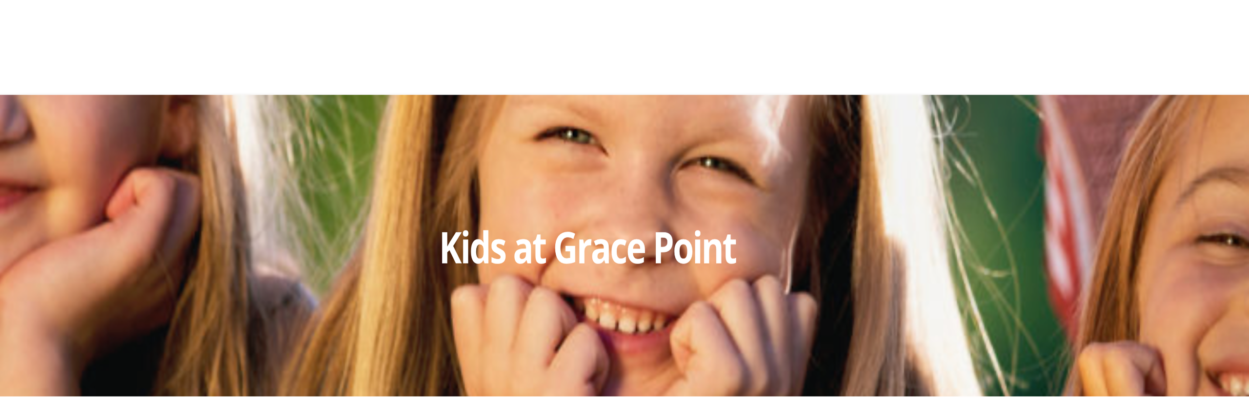 Kids at Grace Point