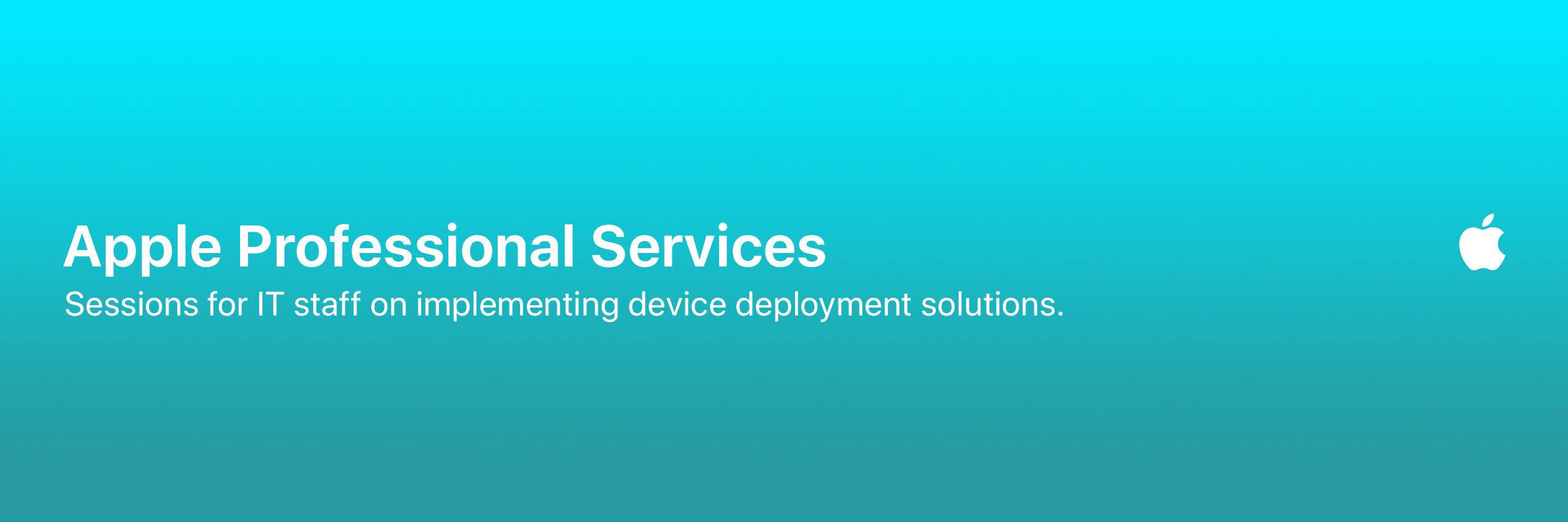 Apple Professional Services