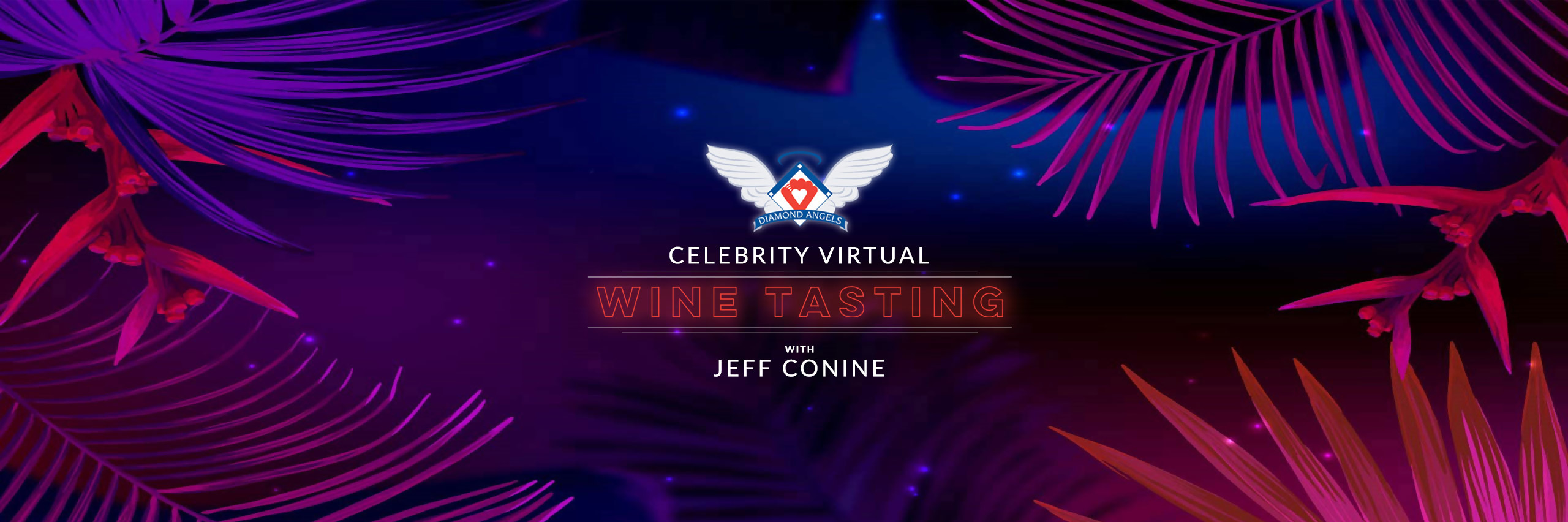 Diamond Angels Celebrity Virtual Wine Tasting