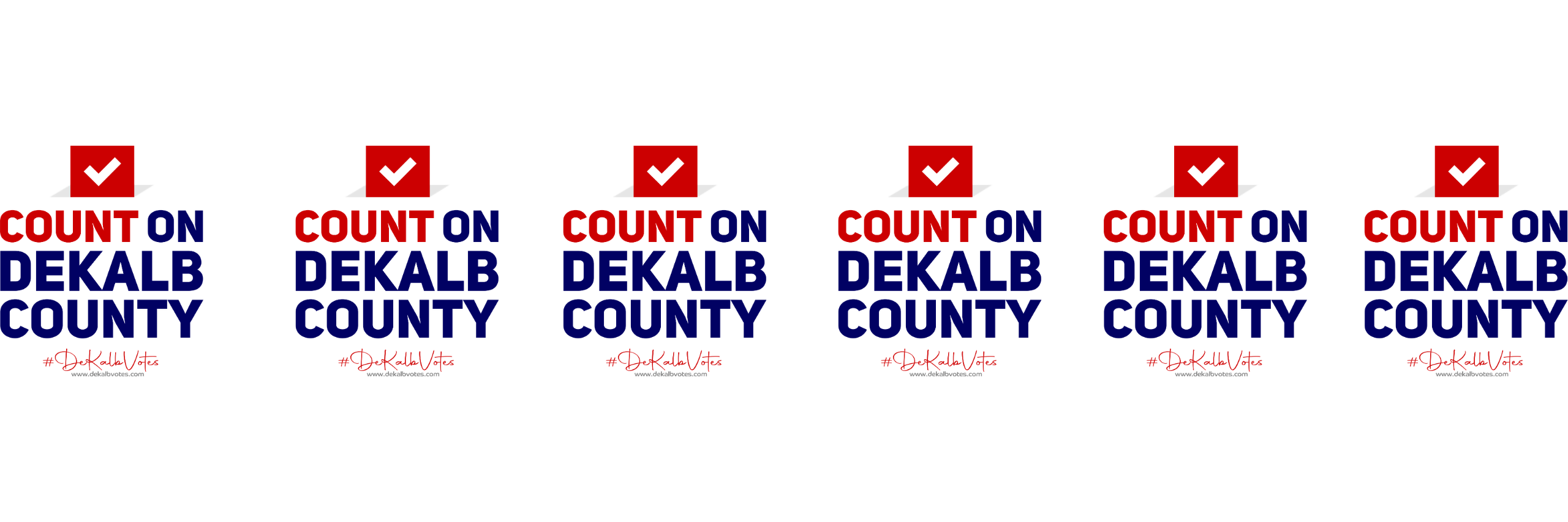Welcome to the Count on DeKalb page.