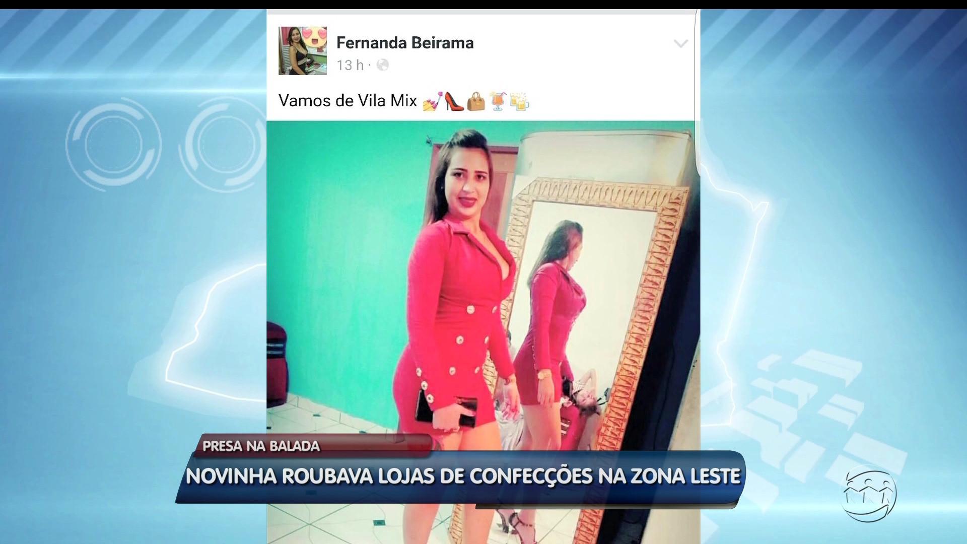 MULHER É PRESA APÓS POSTAR FOTO COM ROUPA ROUBADA NA INTERNET