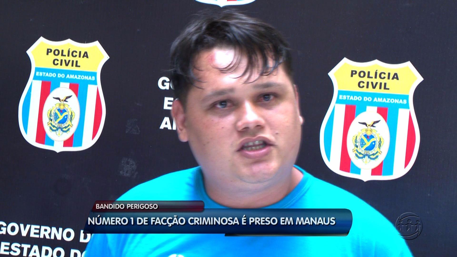 ''SE DEU MAL'': CHEFE DE FACÇÃO CRIMINOSA É PRESO - ALÔ AMAZONAS - 28/03/2017