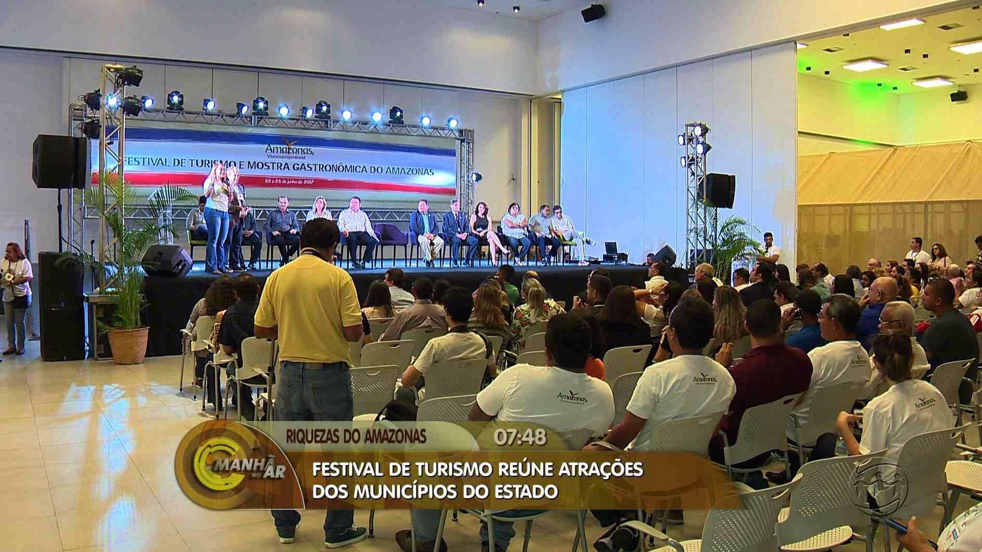 MANAUS RECEBE FESTIVAL DE TURISMO E MOSTRA GASTRONÔMICA DO AMAZONAS - Manhã no Ar 23/06/17