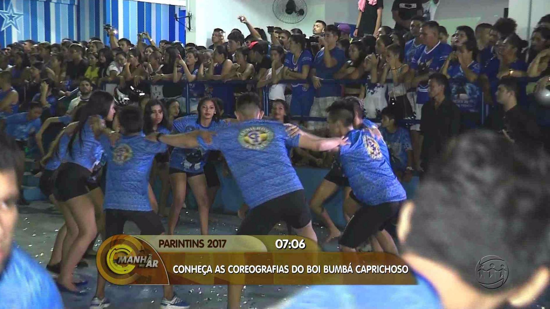 CONHEÇA AS COREOGRAFIAS DO BOI CAPRICHOSO - Manhã no Ar 27/06/17 - A Crítica na TV 27/06/2017