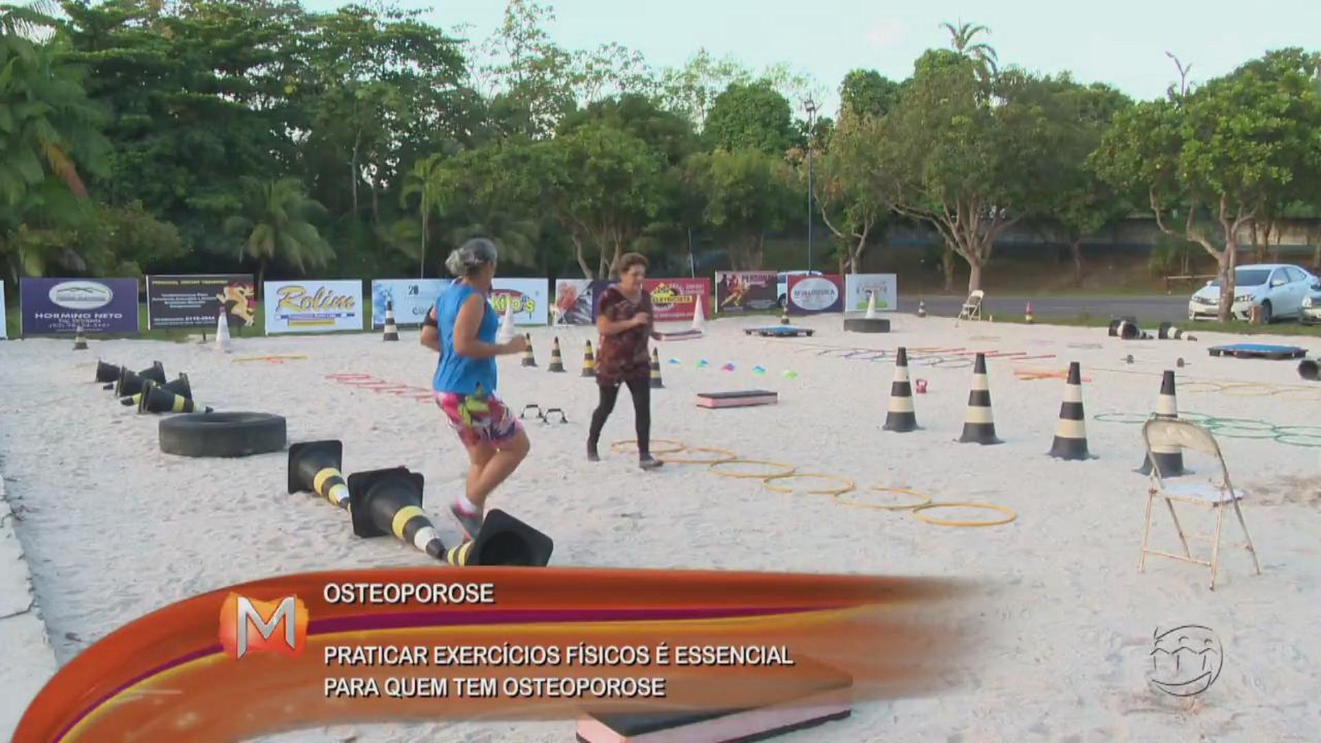 SAÚDE: PRATICAR EXERCÍCIOS FÍSICOS É ESSENCIAL PARA QUEM TEM OSTEOPOROSE - Magazine - 27/06/17