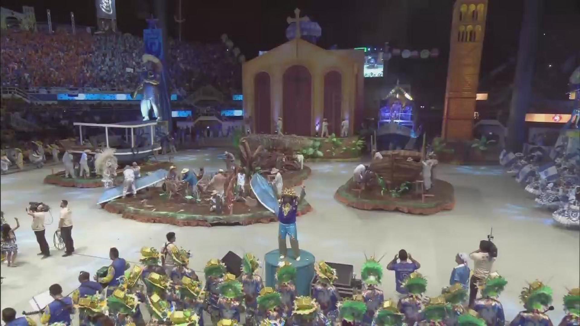 CONFIRA A APRESENTAÇÃO DA FIGURA TÍPICA REGIONAL DO BOI CAPRICHOSO - Terceira Noite - 02/07/17