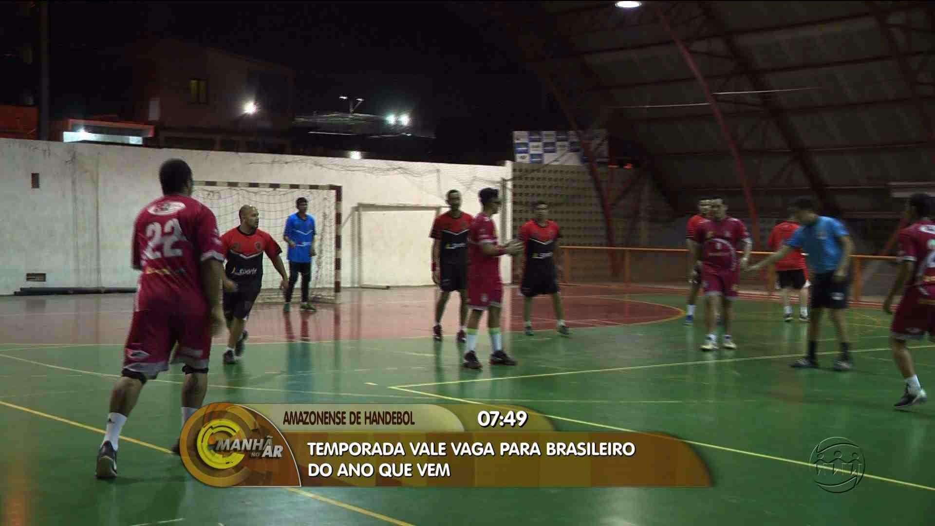 CAMPEONATO AMAZONENSE DE HANDEBOL VALE VAGA PARA CAMPEONATO BRASILEIRO 2018 - Manhã no Ar 15/08/17