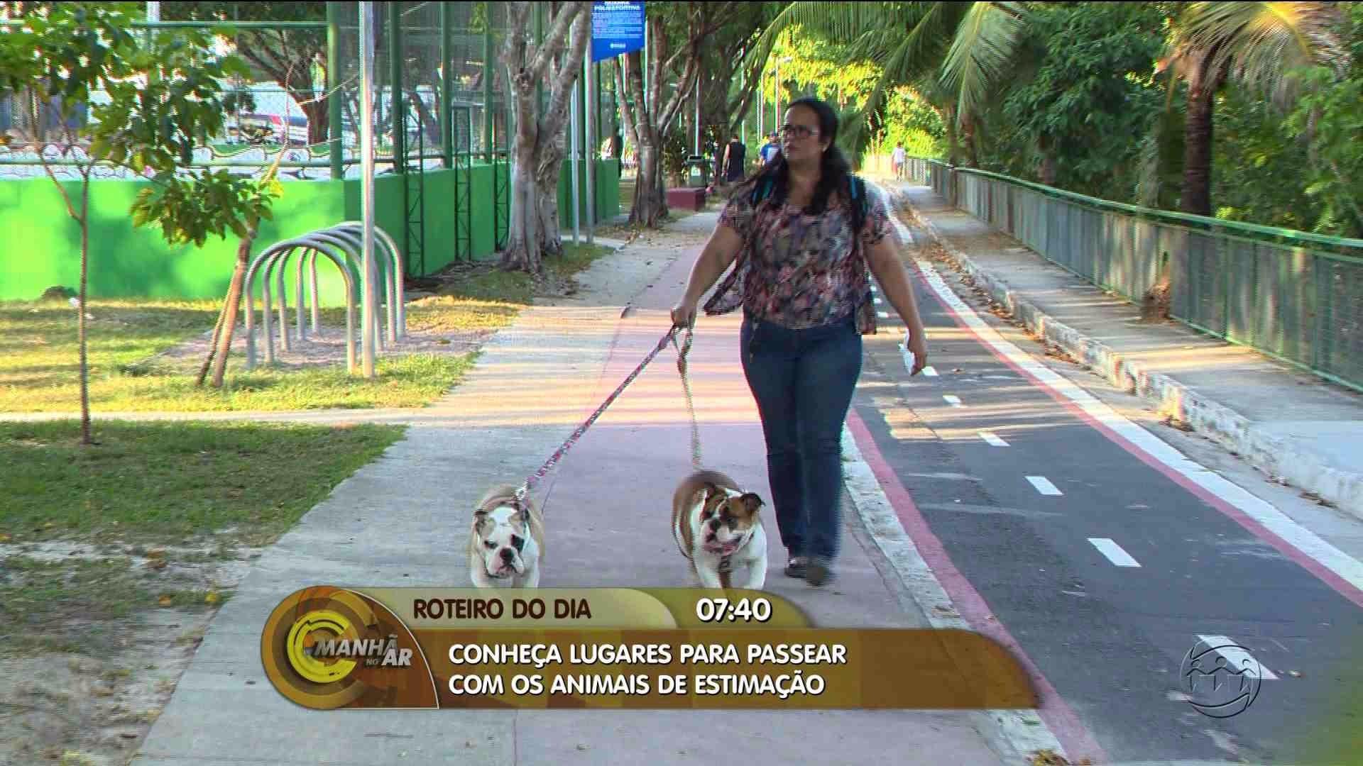 CONFIRA DICAS DE LUGARES PARA PASSEAR COM ANIMAIS DE ESTIMAÇÃO - Manhã no Ar 18/08/17 - Alô Amazonas 18/08/2017