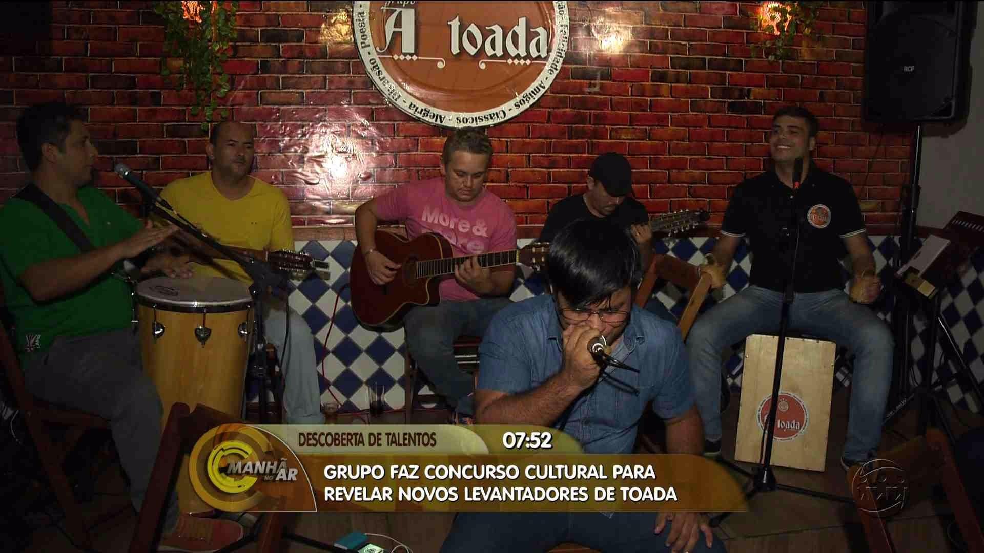TALENTO: CONCURSO CULTURAL BUSCA NOVOS LEVANTADORES DE TOADA - Manhã no Ar 18/08/17