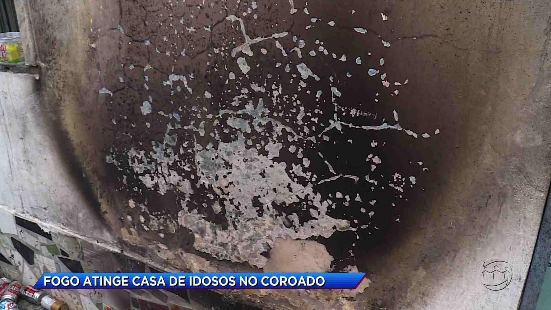INCÊNDIO ATINGE CASA DE IDOSOS NO BAIRRO COROADO - Cidade Alerta Manaus 13/10/17