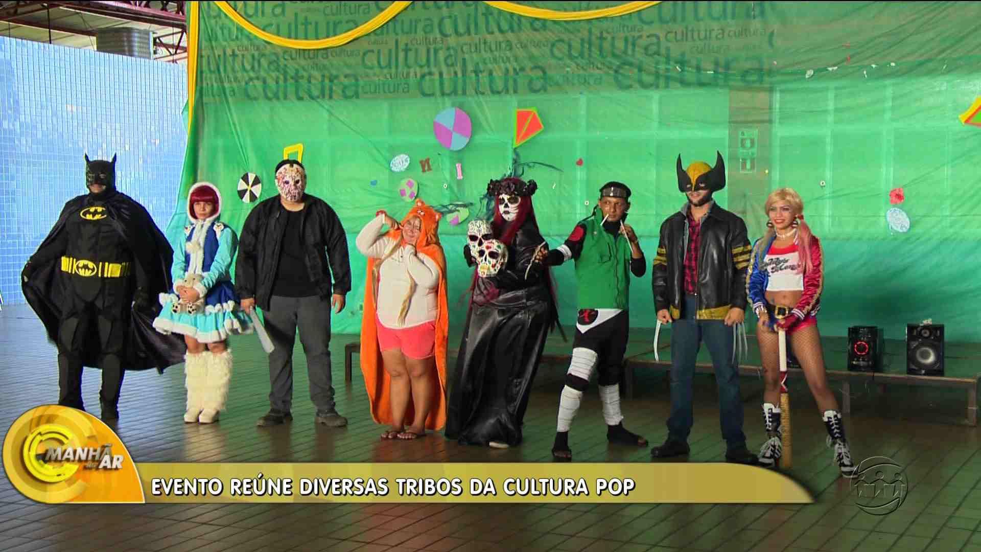 FEIRA DE CULTURA GEEK REÚNE TECNOLOGIA, CULTURA POP E GAMES - Manhã no Ar 16/10/17