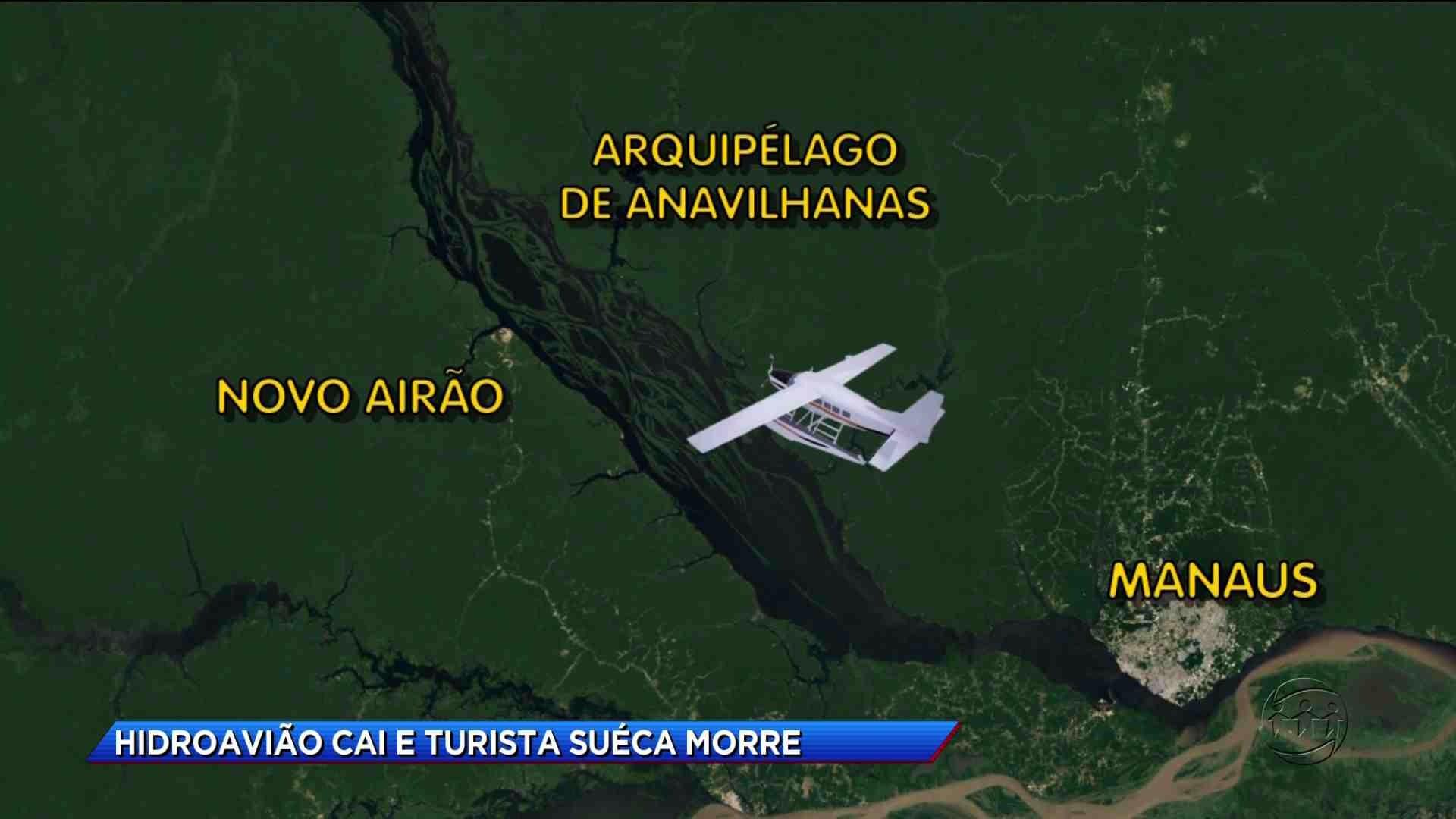 TRAGÉDIA: HIDROAVIÃO CAI NO RIO NEGRO E TURISTA MORRE - Cidade Alerta Manaus 17/10/17