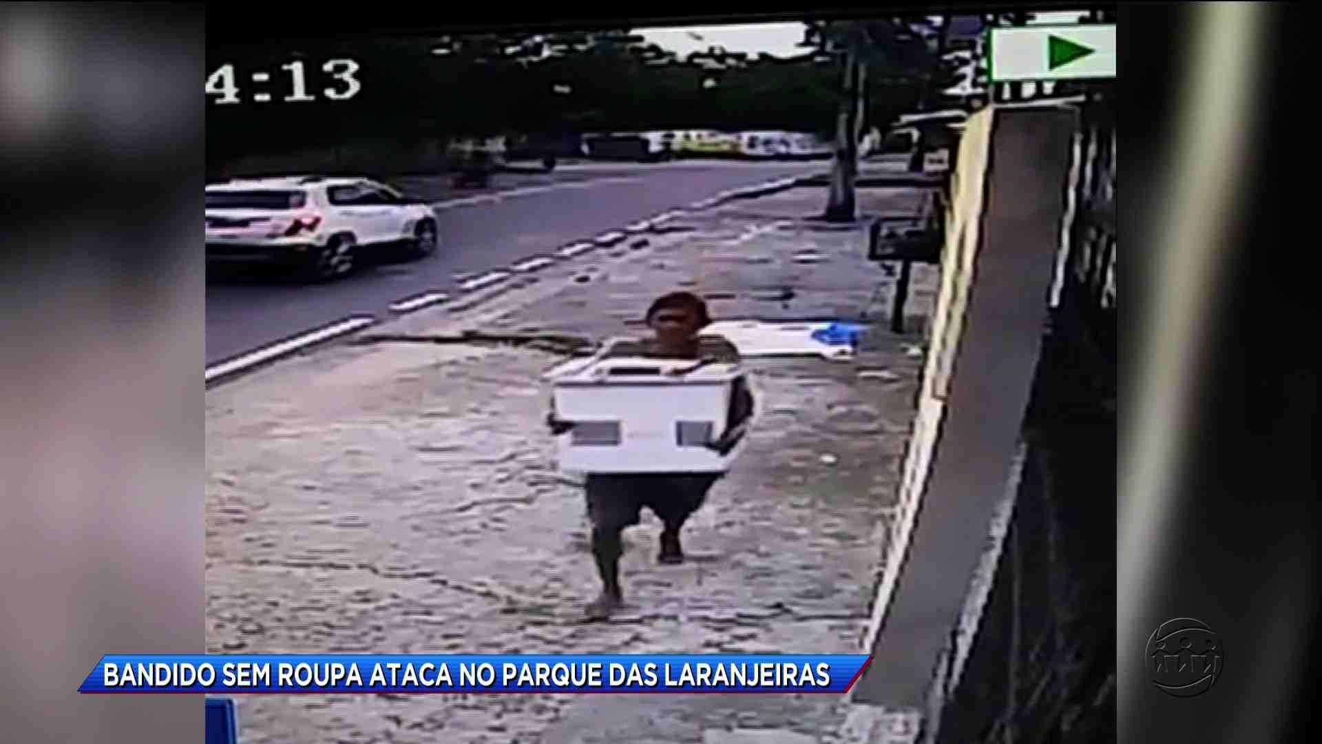 HOMEM INVADE CASA E TIRA ROUPA PARA ENTRAR NA PISCINA - Cidade Alerta Manaus 19/10/17