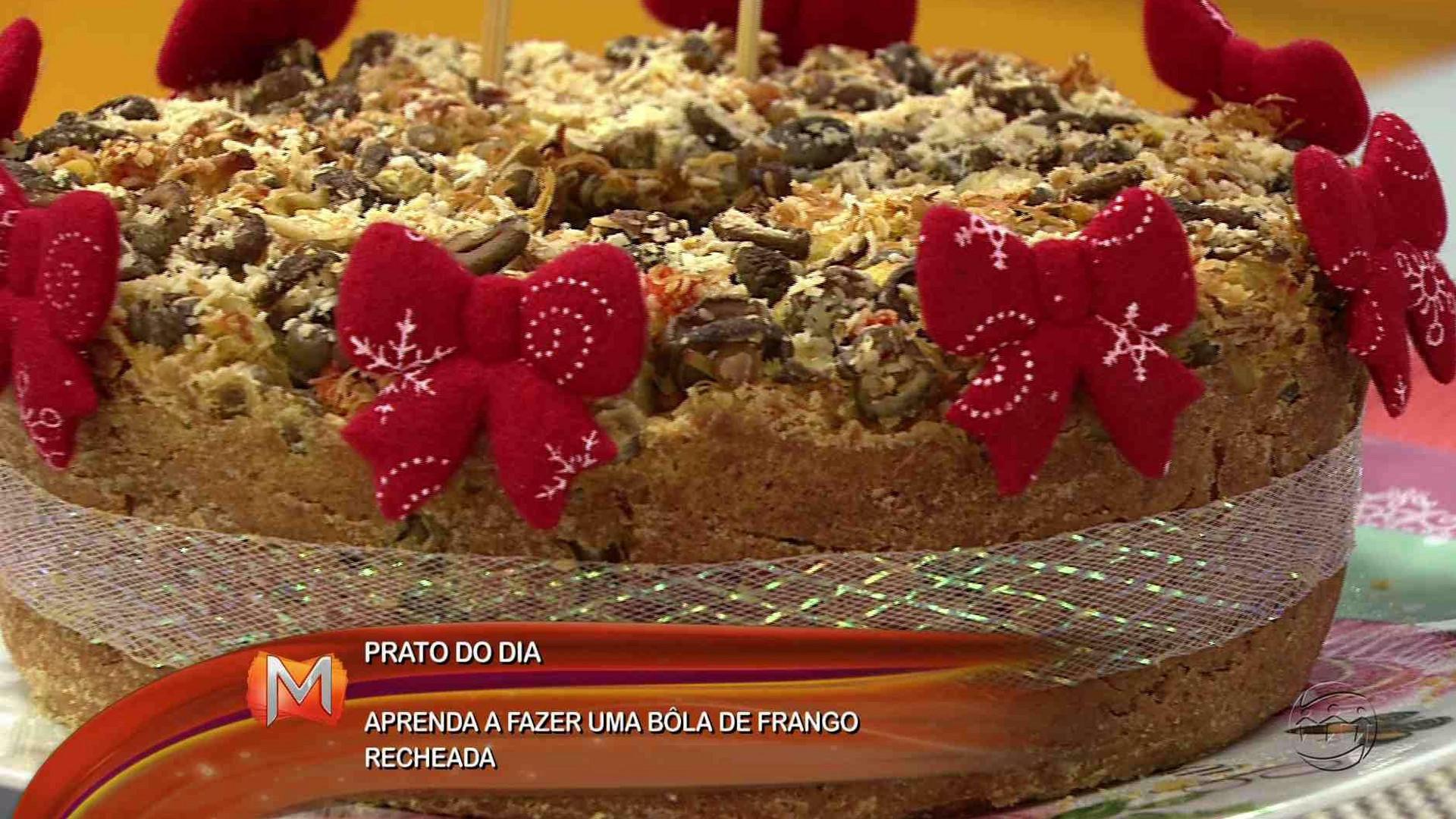 CULINÁRIA: APRENDA A FAZER BOLA DE FRANGO - Magazine 16/11/17