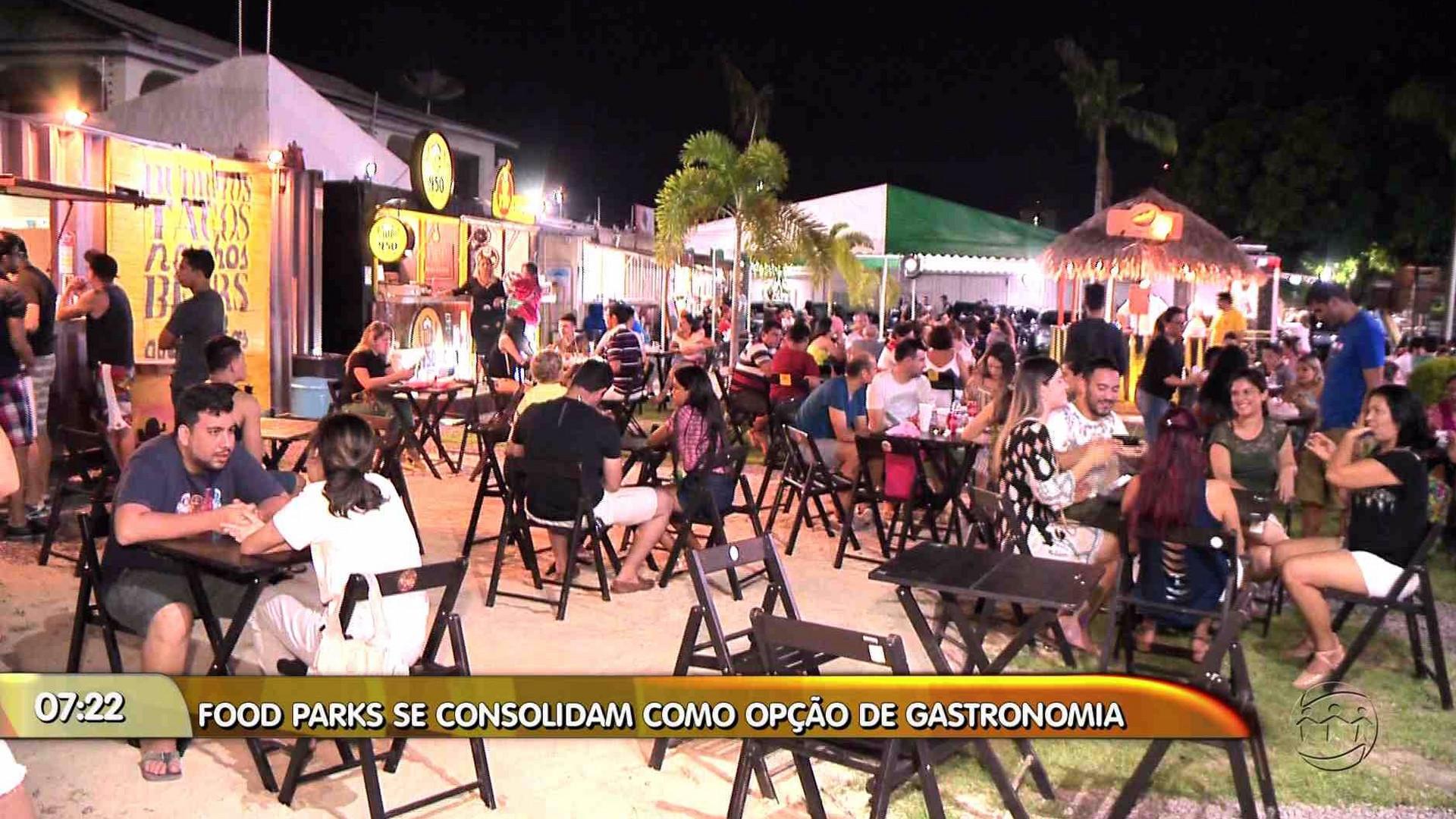 GASTRONOMIA: CONHEÇA OPÇÕES DE FOOD PARKS EM MANAUS - Manhã no Ar 24/11/17