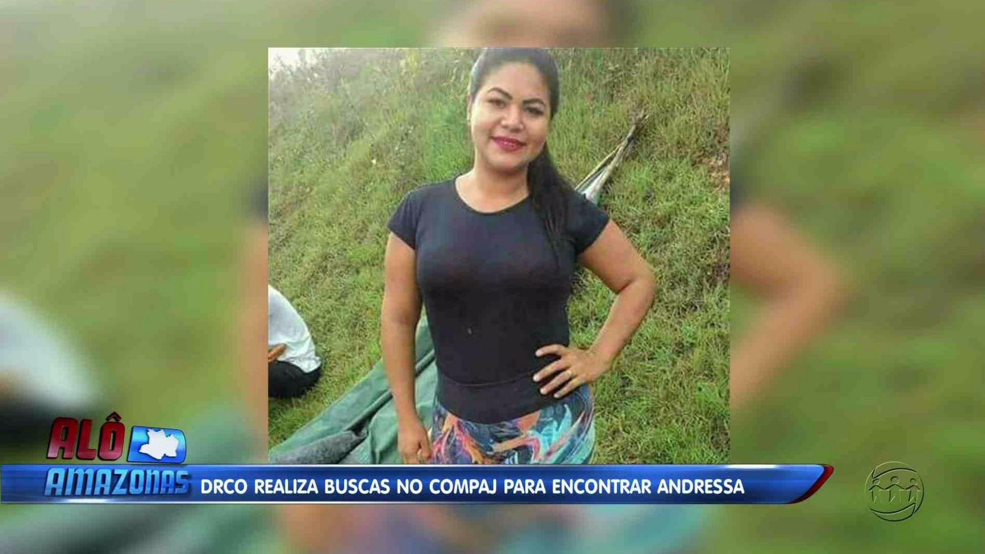 DESAPARECIMENTO DE ANDRESSA CASTILHO PODE TER RELAÇÃO COM MORTE DE EX-DETENTO - Alô Amazonas 07/12/1