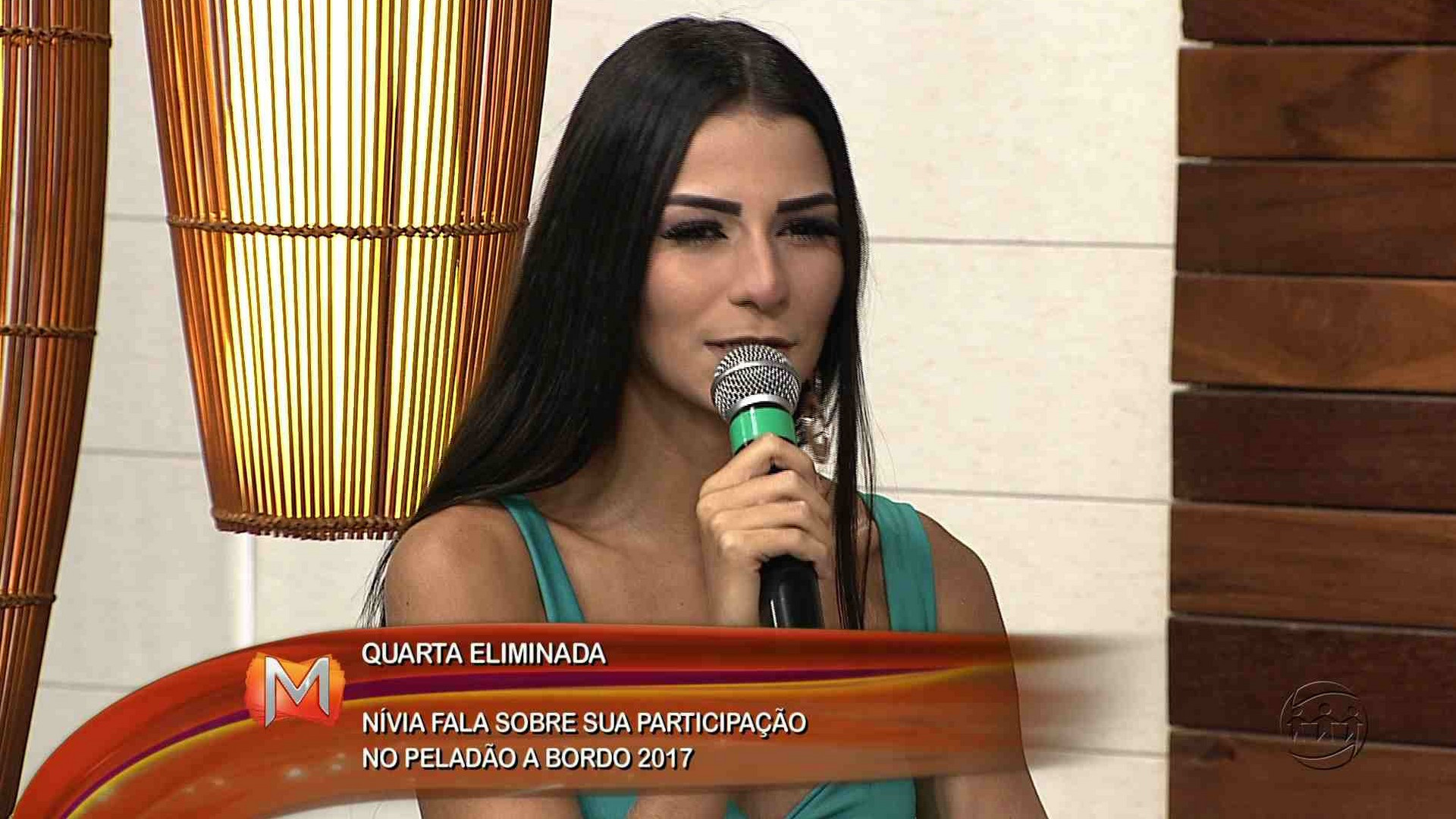 ENTREVISTA: NÍVEA CHAVES É A QUINTA ELIMINADA DO PELADÃO A BORDO - Magazine 11/12/17