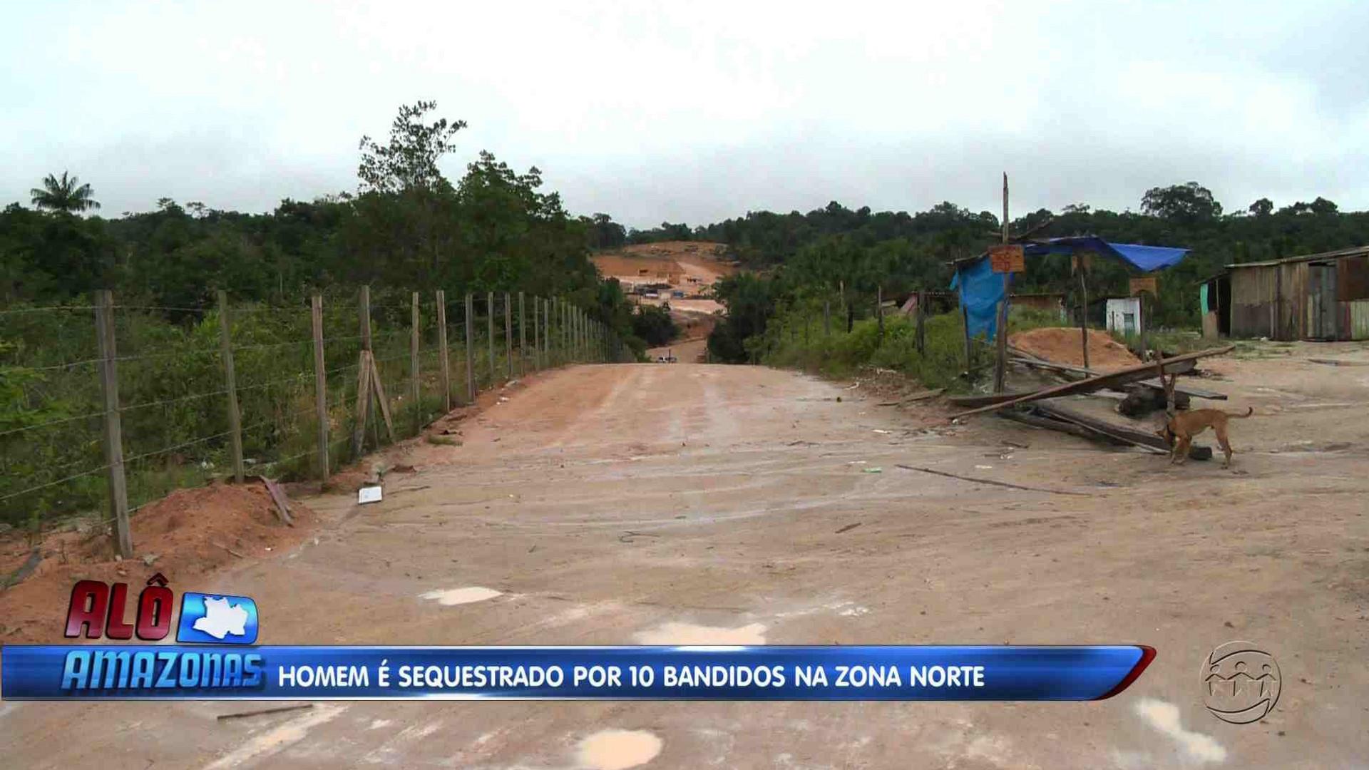 IRMÃO DE POLICIAL É SEQUESTRADO POR DEZ BANDIDOS - Alô Amazonas 11/12/17