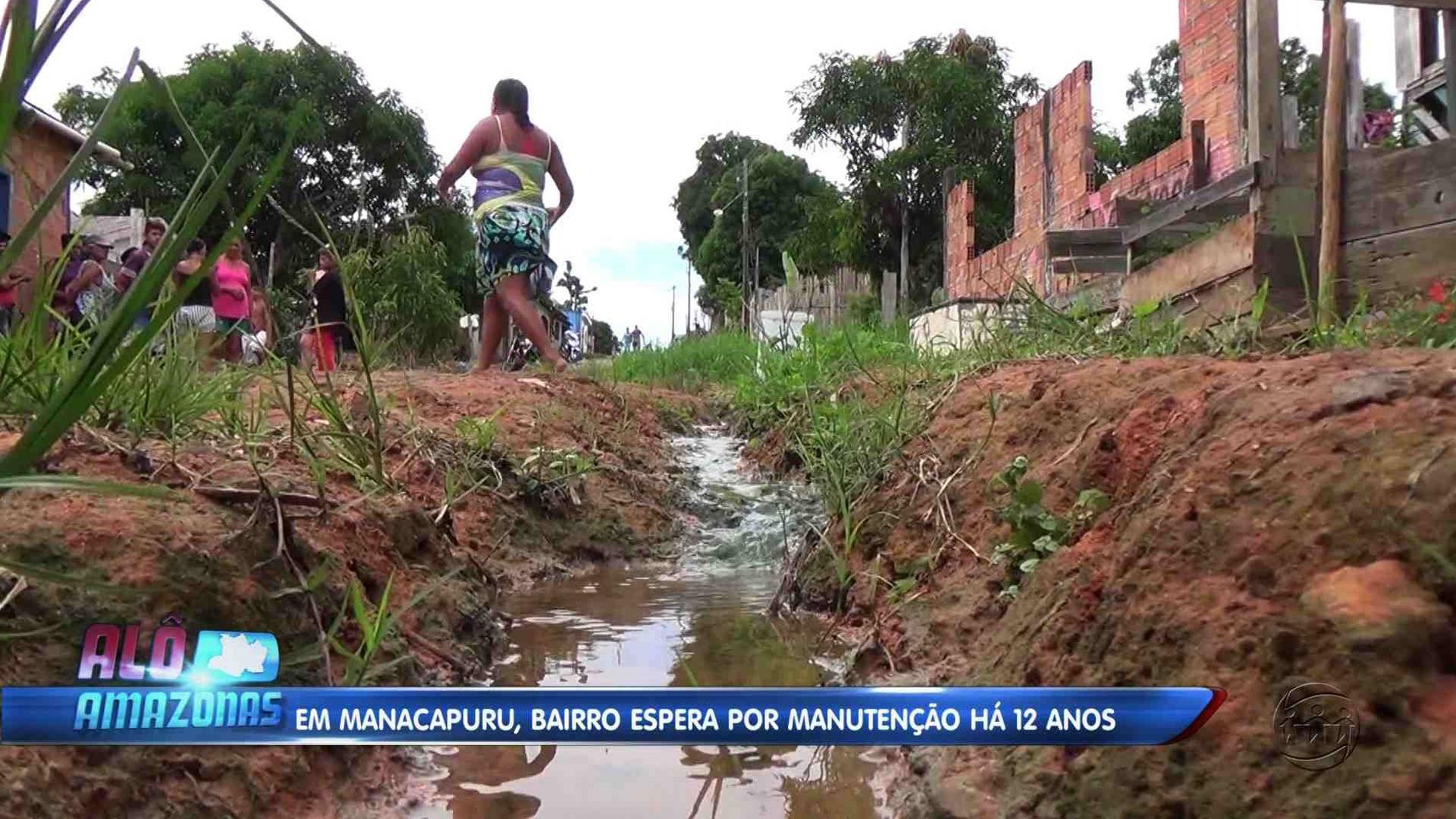 BAIRRO ESPERA POR MANUTENÇÃO HÁ 12 ANOS EM MANACAPURU - Alô Amazonas 14/12/17