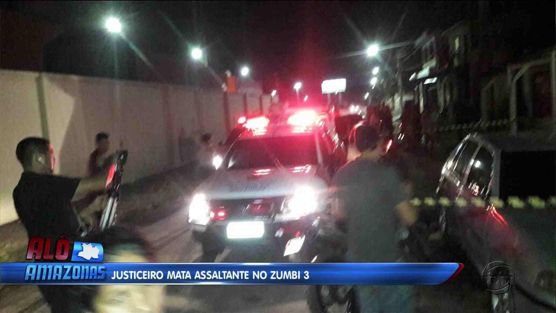 JUSTICEIRO: HOMEM MATA ASSALTANTE NO BAIRRO ZUMBI - Alô Amazonas 14/12/17