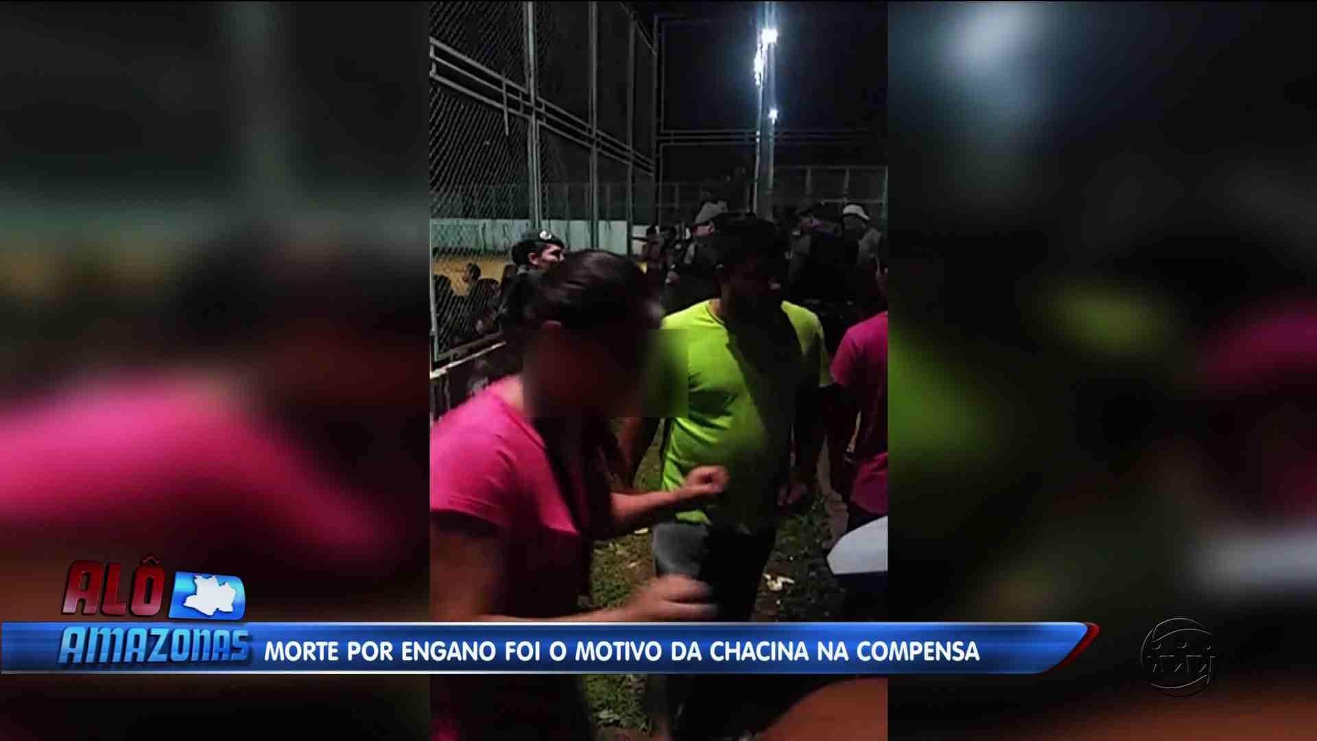 MORTE POR ENGANO FOI O MOTIVO DA CHACINA NO BAIRRO COMPENSA - Alô Amazonas 15/12/17