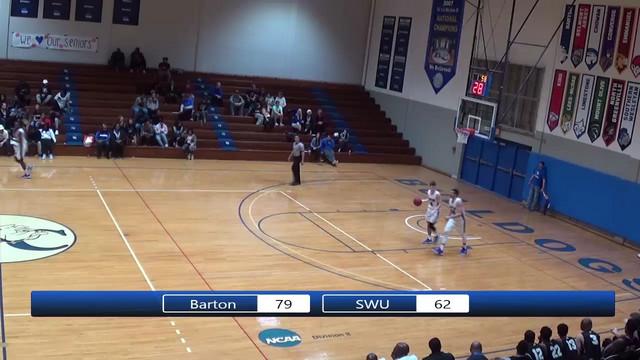 Barton College Mens Basketball Vs SWU Part 6