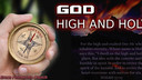 03/03/19 - GOD HIGH AND HOLY