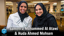 Sameera Mohammed Al Atawi, American University of Bahrain & Huda Ahmed Mohsen | AWSPS Summit Bahrain