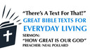 9/22/2019 - Neal Pollard - How Great Is Our God