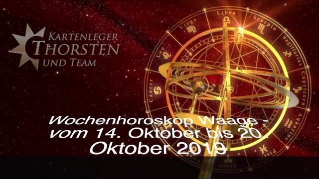 Horoskop waage märz 2019