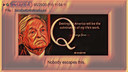 Qanon May 29, 2020 Nobody Escapes This