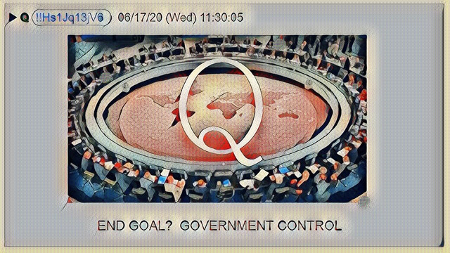 End Goal? Government Control
