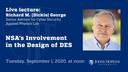 NSA's Involvement in the Design of DES