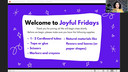 Joyful Fridays: H is for Happy
