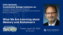 Hop Talks: What We Are Learning about Memory and Alzheimer's